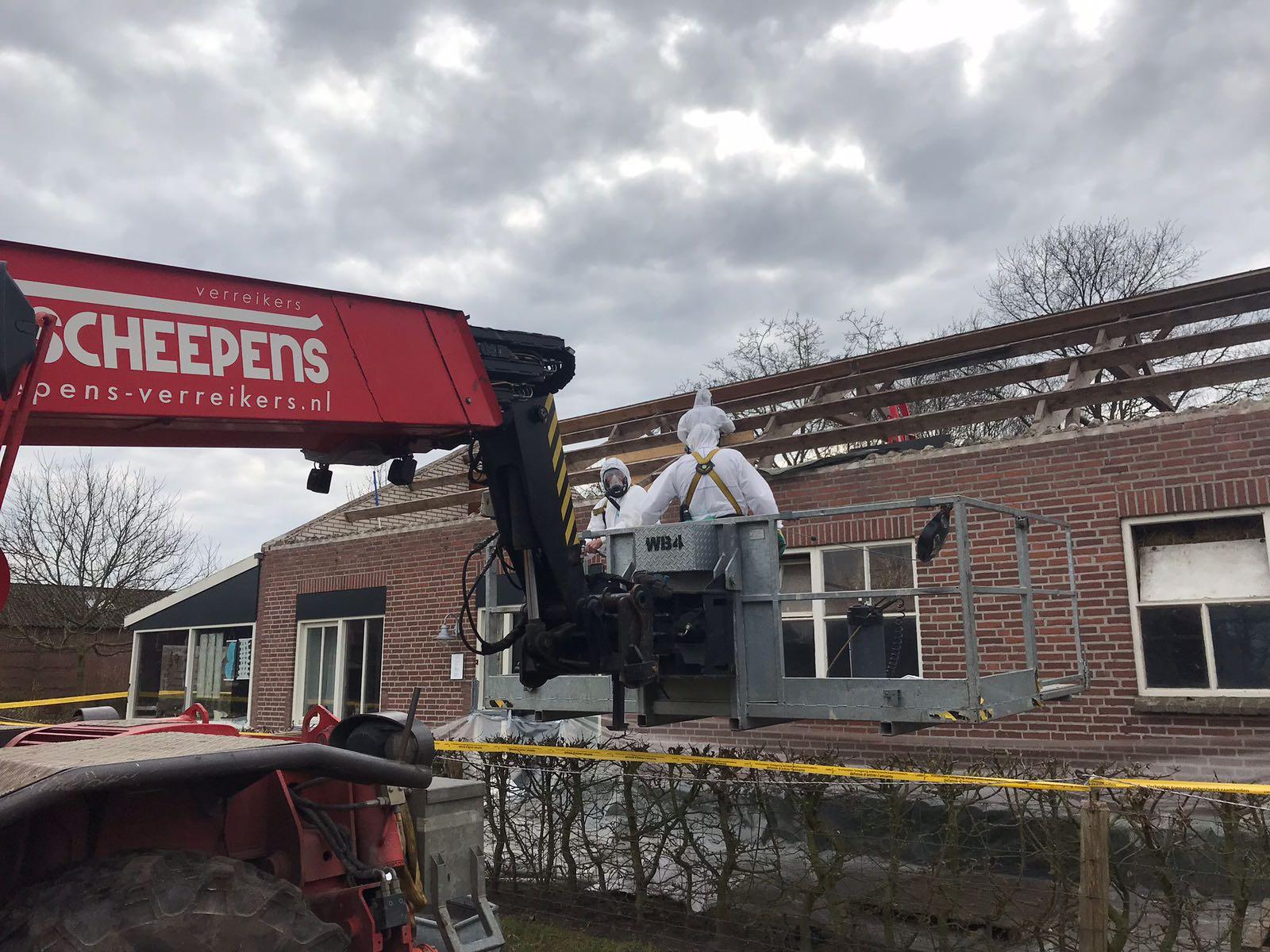 Wanneer moet asbest verwijderd zijn