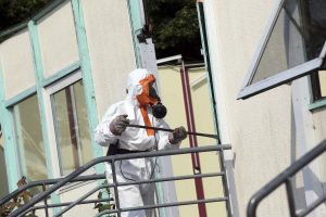 Asbest dakbeschot verwijderen